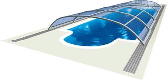 Павильон для бассейна Элегант