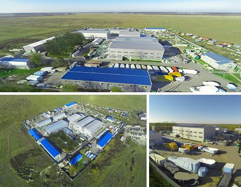 Завод по производству композитных бассейнов