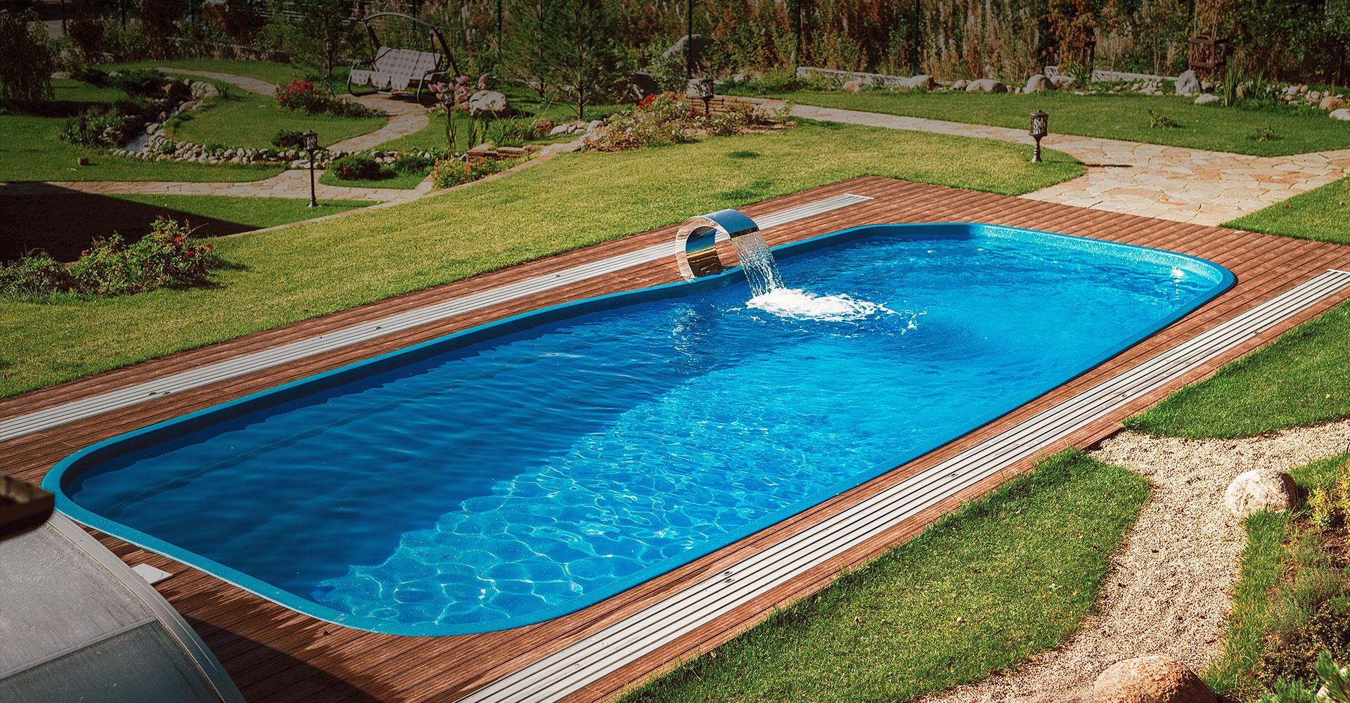 Выбираем бассейн себе на дачу